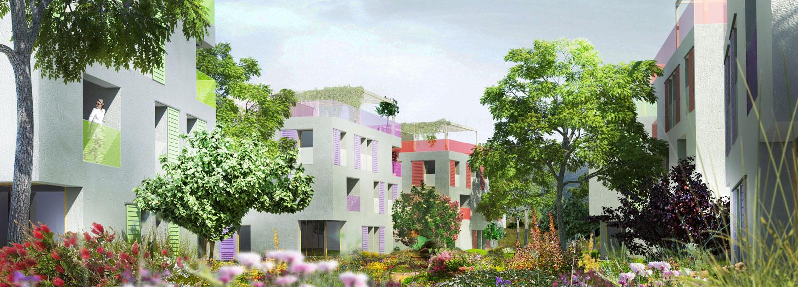 30 logements: fleurir un lieu