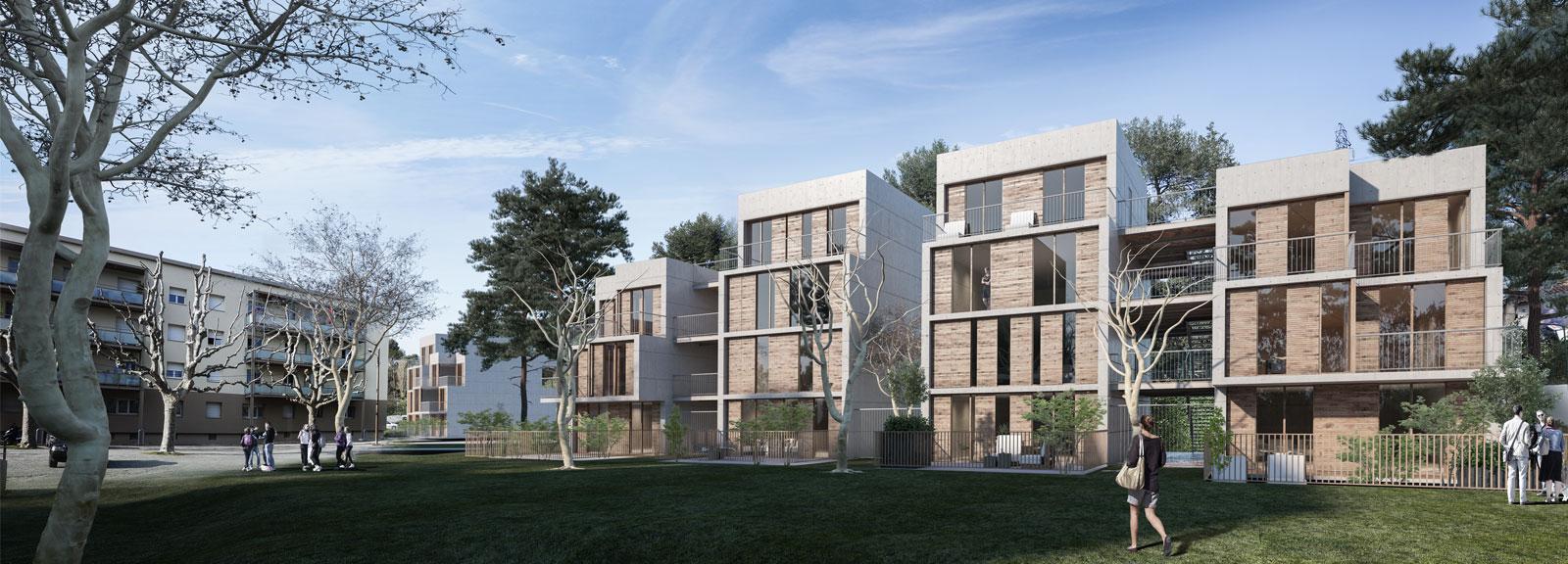 18 logements, domaine de la Reynarde